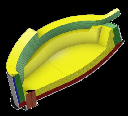 电弧炉 (EAF) 是废钢再加工的重要工具,有助于减少钢铁行业的碳足迹。 这种极端侵蚀性的工艺需要大量高质量的耐火材料。 Saint-Gobain Performance Ceramics & Refractories 的砖块和整体材料采用精心挑选的原材料和严格控制的工艺制造,以确保耐用性、质量和安全性。
