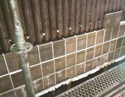 Saint-Gobain fournit des solutions réfractaires exceptionnelles pour le traitement thermique sur le marché WTE. Nos systèmes de protection de tube sont des parois de tube de protection inégalées et ce même dans des conditions exigeantes. Nos matériaux résistants à l'oxydation et à haute conductivité thermique, à base de carbure de silicium (SiC), ont diverses formulations pour répondre de façon personnalisée à vos besoins thermiques et chimiques.
