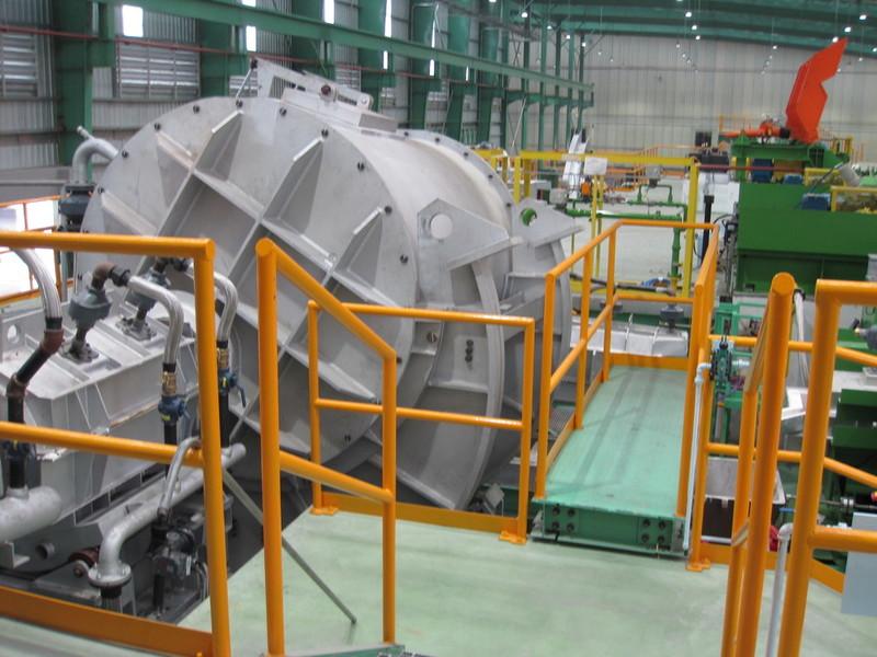 Tenir l'équipement funrace pour l'industrie du cuivre