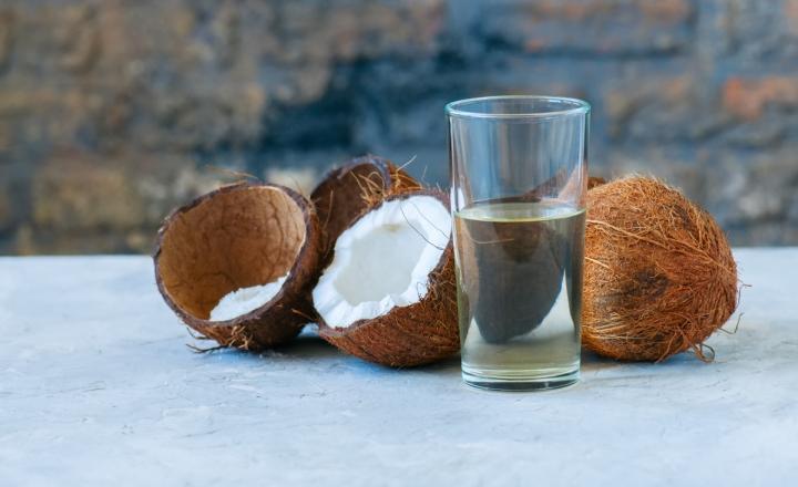 过滤,椰子水