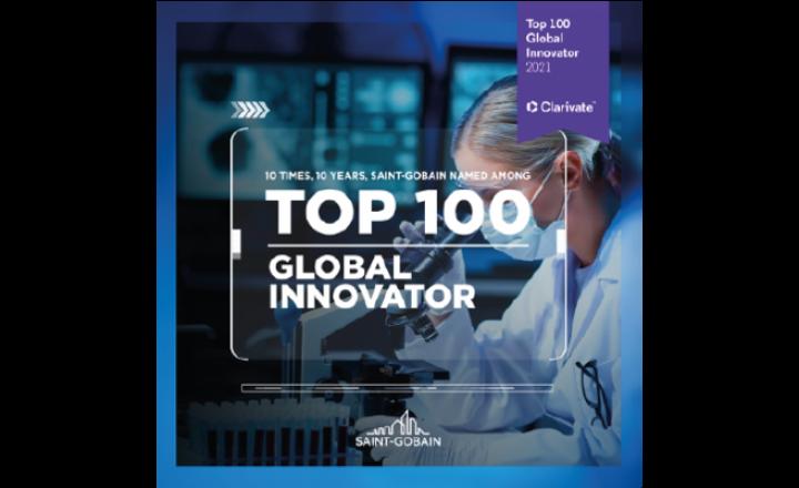 全球创新百强,100年10次 圣戈班
