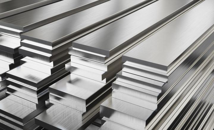 bannière en aluminium non ferreux