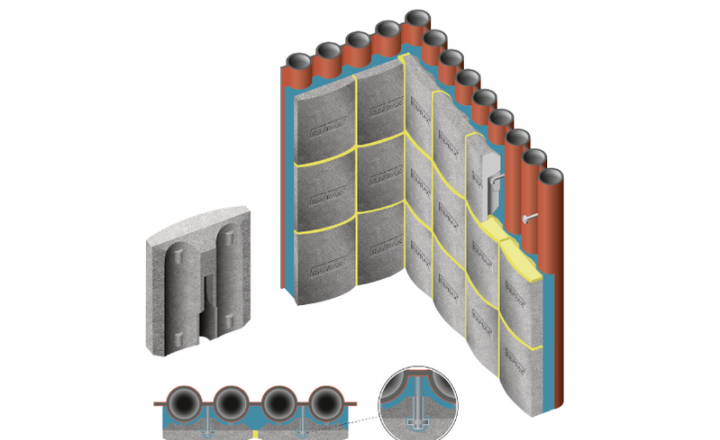 可用于所有安装系统,用于垂直锅炉管壁,例如侧壁、后壁和前壁,以及天花板上的倾斜管壁,如入口天花板、烧毁和锅炉天花板。
